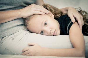 Сильный стресс у ребенка