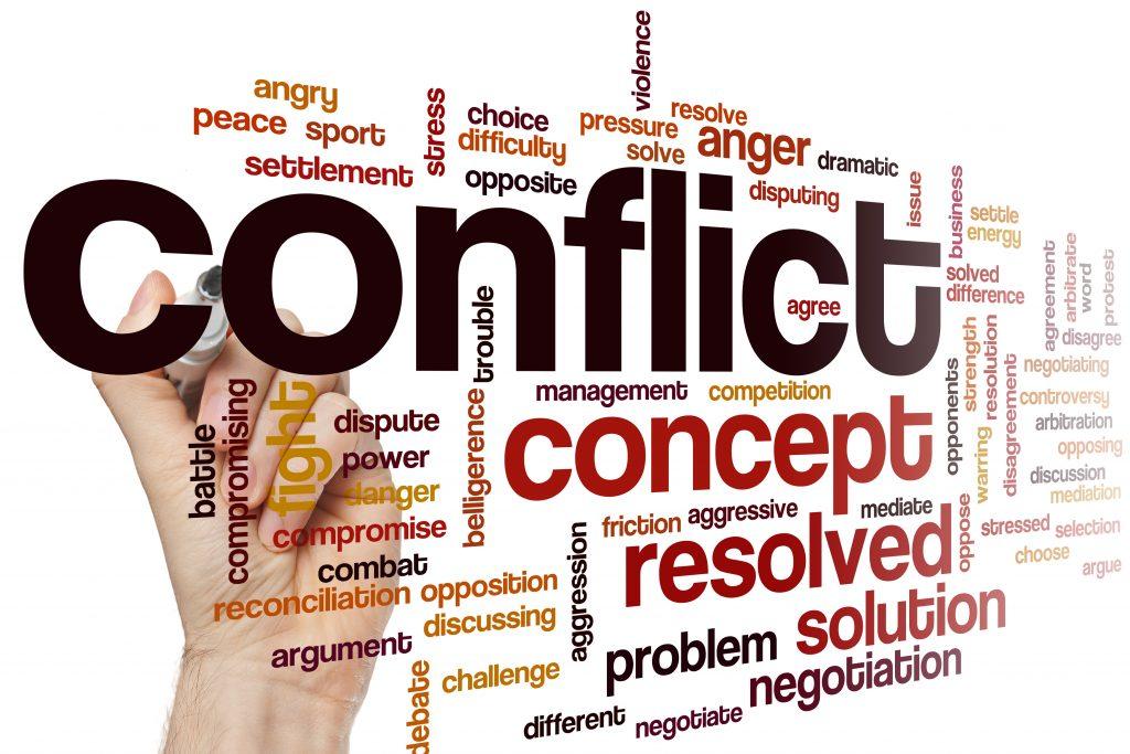 конфликт кратко